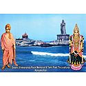 Vivekananda Rock Temple and Thiruvalluvar Statue