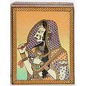 Bani Thani - Jewelry Box with Gemstone Painting