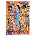 Santhal Dancers - Kalighat Painting