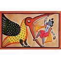 Krishna Killing Vakasur