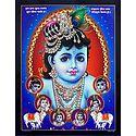 Different Moods of Krishna