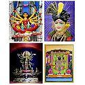 Sreenathji, Swaminarayan, Durga - Set of 3 Posters