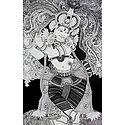 Krishna in Black and White