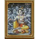 Krishna with Gopis - Table Top Picture