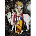 Cowherd Krishna Poster