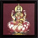 Goddess Lakshmi - Wall Hanging