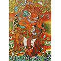 Moments of Love of Radha And Krishna