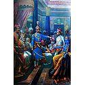 Sri Krishna and Shishupal