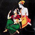Shringar of Radha by Krishna