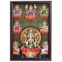 Ashtalakshmi - Wall Hanging