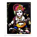 Makhan Chor Krishna Plug-on Night Lamp with Adaptor