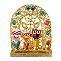 Jagannath, Balaram, Subhadra - For Car Dashboard