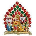 Jagannathdev,Balaram and Subhadra for Car Dashboard