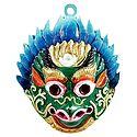Garuda, The Divine Vehicle of Lord Vishnu - Wall Hanging Mask