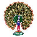 Colorful Metal Peacock