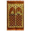 Brown Velvet Islamic Namaz Mat
