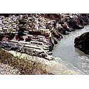 Confluence of Bhagirathi and Alakananda River, Uttarakhand, India