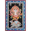 Lord Ganesha Dancing on Mouse