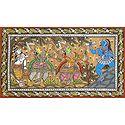 Lord Rama and Laxmana Killing Demoness Taraka