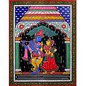 Radha Krishna in a Temple