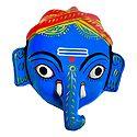 Ganesha Mask from Telengana - Wall Hanging