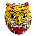 Tiger Mask from Telengana - Wall Hanging