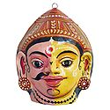 Dushyant and Shakuntala Combined Mask - Wall Hanging