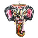 Decorative Elephant Mask - Wall Hanging