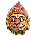 Hanuman Mask - Wall Hanging