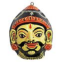 Parashuram Mask (6th Incarnation of Vishnu) - Wall Hanging