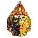 Radha and Krishna Combined Mask - Wall Hanging
