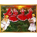 Gujrati Folk Dancers