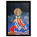 Kathakali Dancer - Wall Hanging