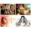 Indian Women - Set of 4 Posters