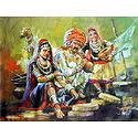 Banjara Snake Charmer Family from Rajasthan