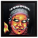 Theyyam Dancer - Wall Hanging
