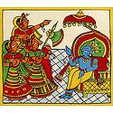 Krishna as the King of Dwarka