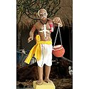 Curd Seller Photo - Unframed Photo Print on Paper