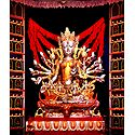 Buddhist Style Durga