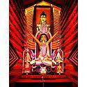 Devi Durga with Family
