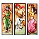 Indian Dancers - Unframed Photo Print on Paper