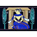 Waiting for Beloved - Photo Print of Jamini Roy Painting
