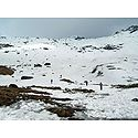 Snow Covered Katao Valley - North Sikkim, India