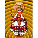 Kathakali Dancer - Unframed Photo Print on Paper
