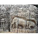 Descent of the Ganges - (Rock Reliefs) Mahabalipuram - Tamil Nadu, India