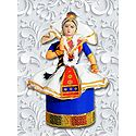 Photo Print of Manipuri Dancer Doll