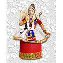 Manipuri Dancer Photo - Unframed Photo Print on Paper