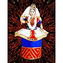 Photo Print of Manipuri Dancer Doll from Manipur
