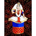 Manipuri Dancer - Unframed Multicolor Photo Print on Paper