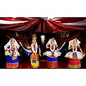 Photo Print of Manipuri Dancer Dolls